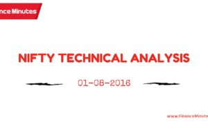 NIFTY TECHNICAL ANALYSIS 01082016