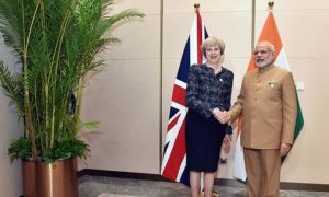 Is the Visit of Theresa May A Good For India?