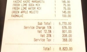 Service Charges Not Mandatory In Restaurants or Hotels