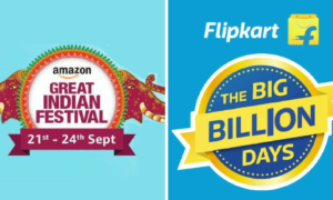 Intense Battle of E-commerce Sale Begins With Flipkart and Amazon