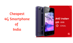 Cheapest 4G Smartphone by Airtel-Karbonn to Compete With Reliance JioPhone