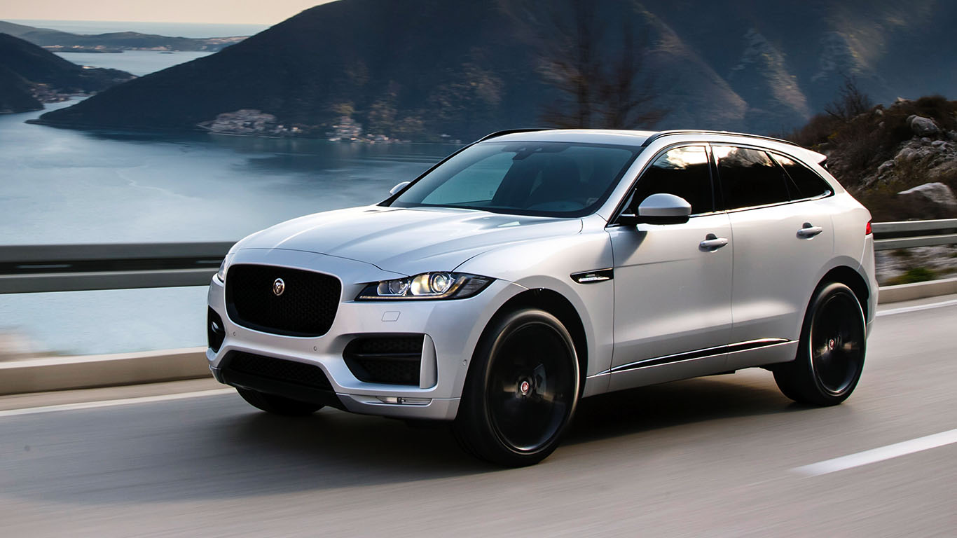 Used Cars Jaguar Fpace